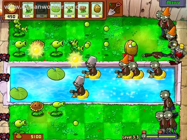 free full version plants vs zombie