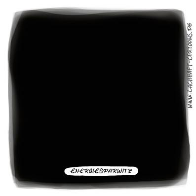 LACHHAFT Cartoon Energiesparwitz Energie sparen Strom dunkel schwarz Nacht nichts leer Leere Cartoons Witze witzig witzige lustige Bildwitze Bilderwitze Comic Zeichnungen lustig Karikatur Karikaturen Illustrationen Michael Mantel Spaß Humor