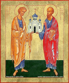 29 iunie / Sărbătoarea sfinților apostoli Petru și Pavel