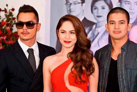 What's with the J? Maria Mercedes Main cast: Jake Cuenca, Jessy Mendiola and Jason Abalos