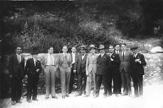 Excursión a La Farga de Bebié en 1932