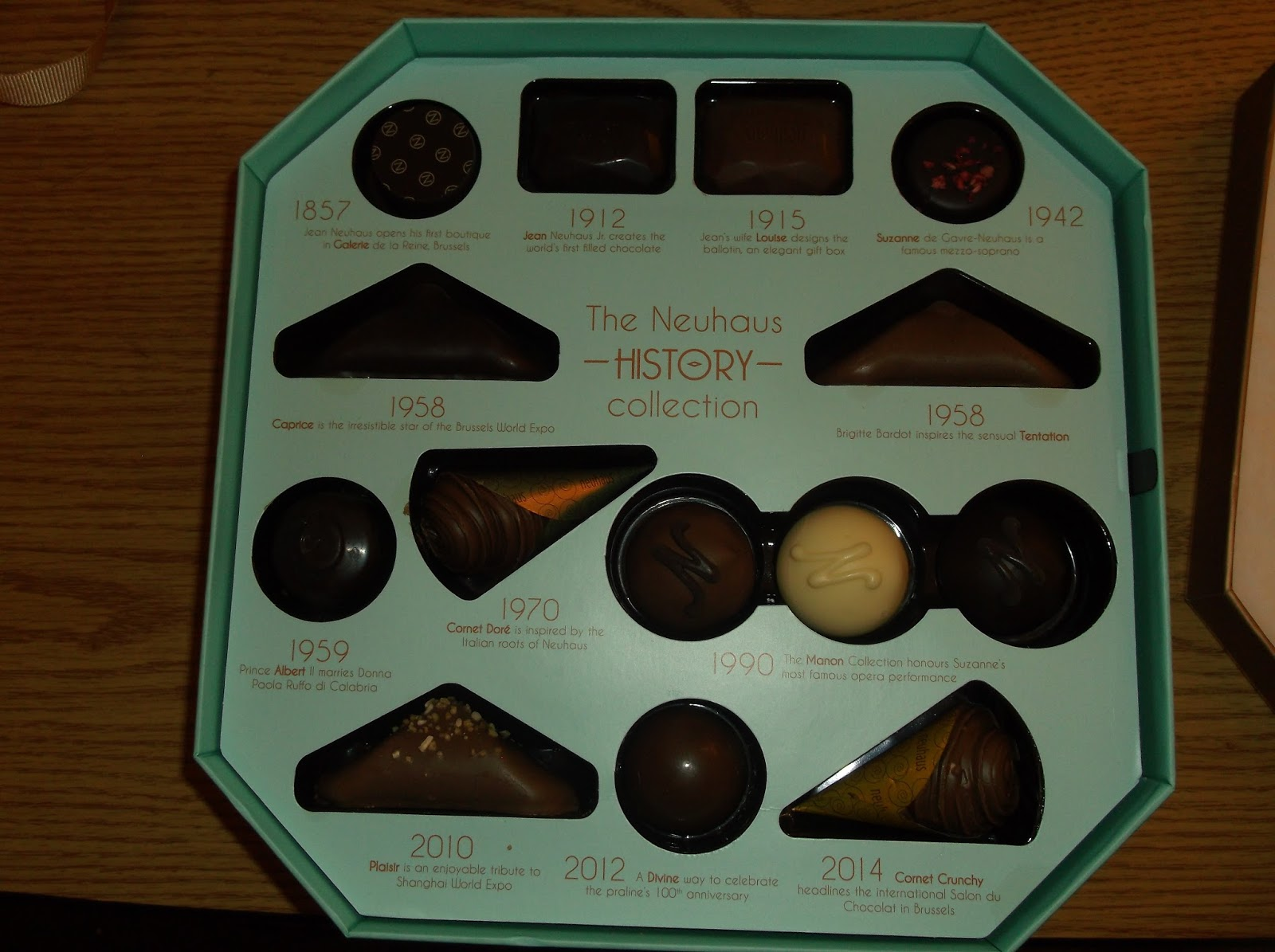 Missys Product Reviews : Neuhaus History Collection Valentine's ...