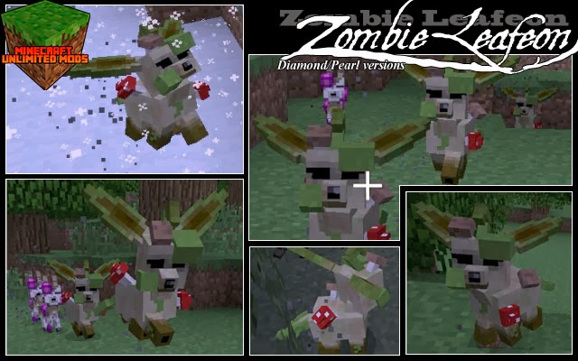 Pokemon: Disciples of Corruption Mod zombie leafeon