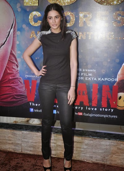 Starcast of movie Ek Villain at the 100 crore success party