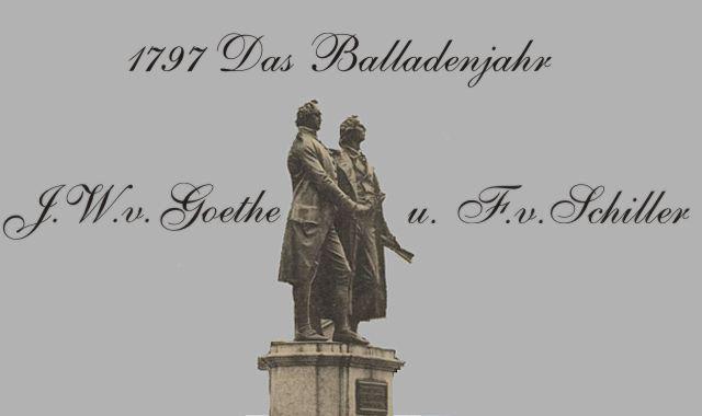 Gedichte Und Zitate Fur Alle Balladen Von Goethe Und Schiller