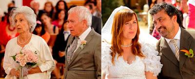 Paco Tous, Natalia Roig, Tino y Alicia, bodas, serie antena 3