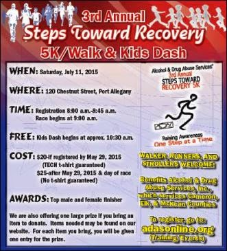 7-11 3rd Annual Steps Toward Recovery