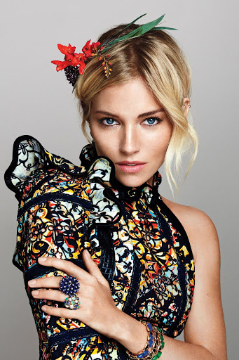 Sienna Miller Marie Claire Magazine October 2015 Photo shoot