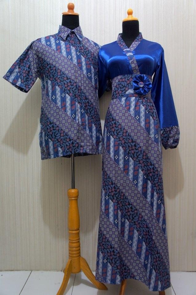 Baju Grosir Jogja Sarimbit Batik Kimono Sbkk Biru Sold