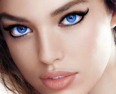 Gambar Mata Indah Wanita Cantik Perancis
