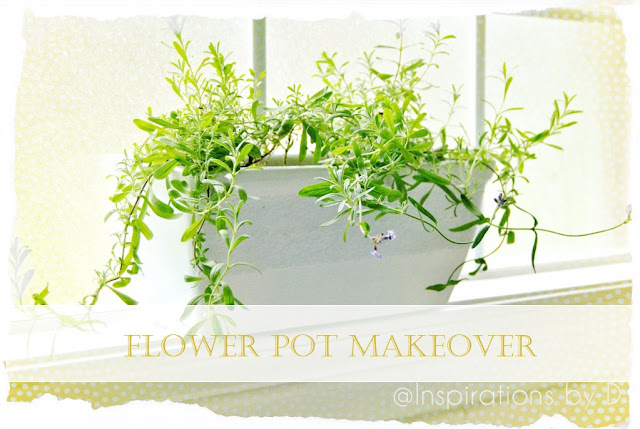 Flower Pot Makeover