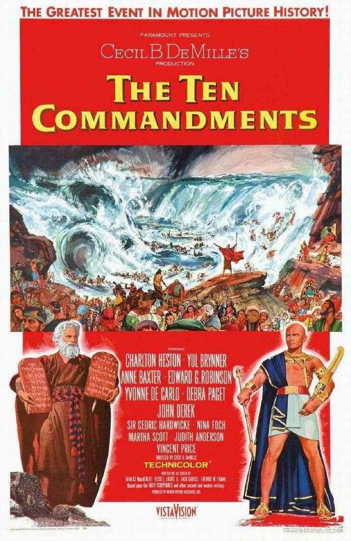 year of the ten commandments