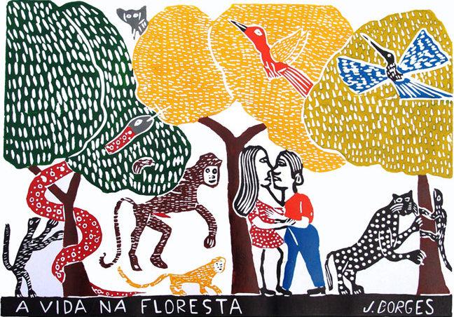 A Vida na Floresta - J Borges