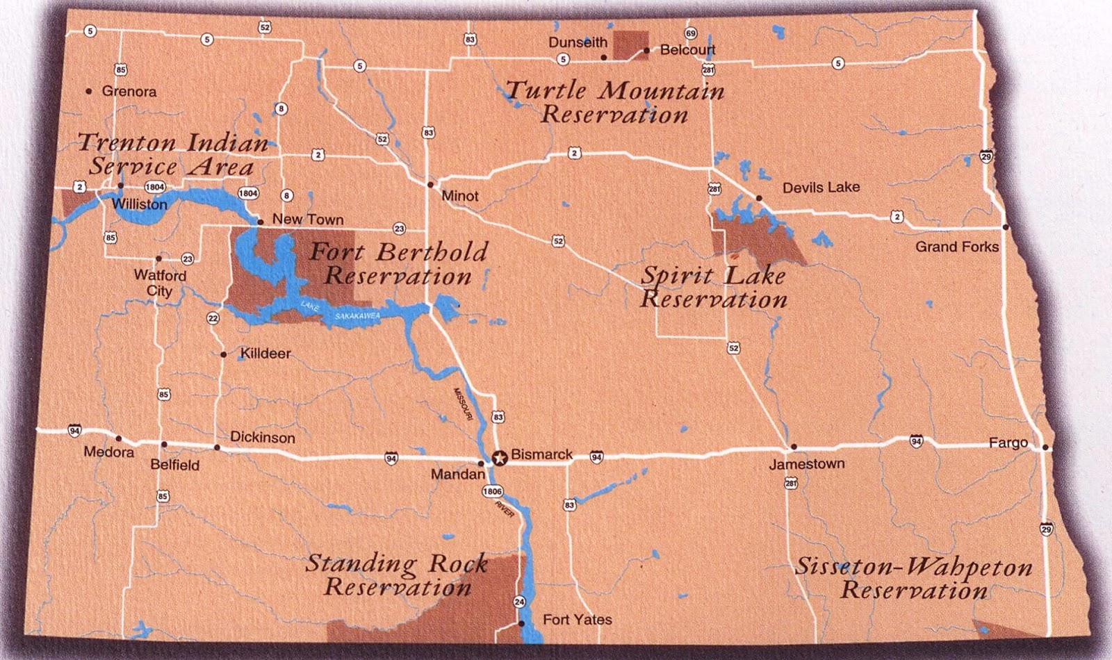 The First Scout Mystic Warriors Of The Great Plains The North - Map of south and north dakota
