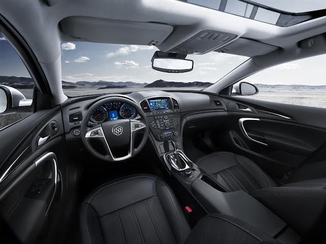 Interior shot of 2011 Buick Regal