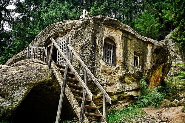 Hermit stone house