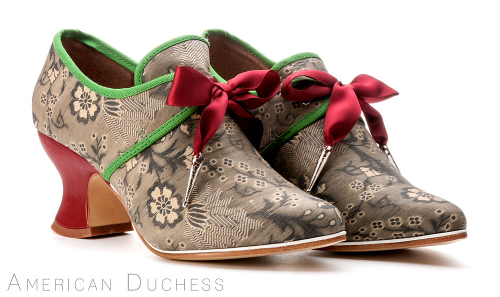 American Duchess custom made 18th century shoes