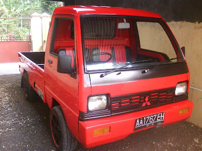 mitsubishi jetstar pick up modifikasi