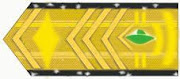 Patente de comandante do comando esmeralda.