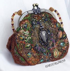 """Estos preciosos bolsos realizados con las boquillas de """"muyvintage"""", los hace Isabelfrgarcia"""