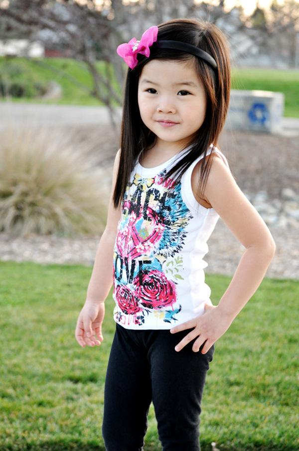 Fashion Cute Kids Models