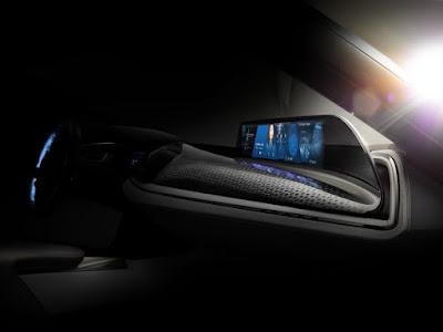 Το BMW Group στην έκθεση Consumer Electronics Show 2016 στο Las Vegas. Η BMW παρουσιάζει το σύστημα AirTouch με τεχνολογία οθόνης αφής χωρίς φυσική επαφή