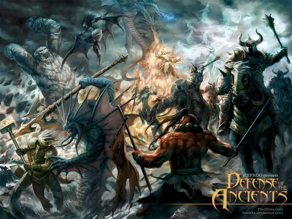 Clash Of Heroes II By Kunkka NaVi Vs A Game 5 DotA2