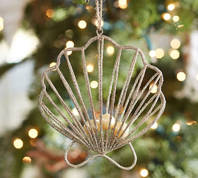 Nautical Ornament: Pottery Barn 2015