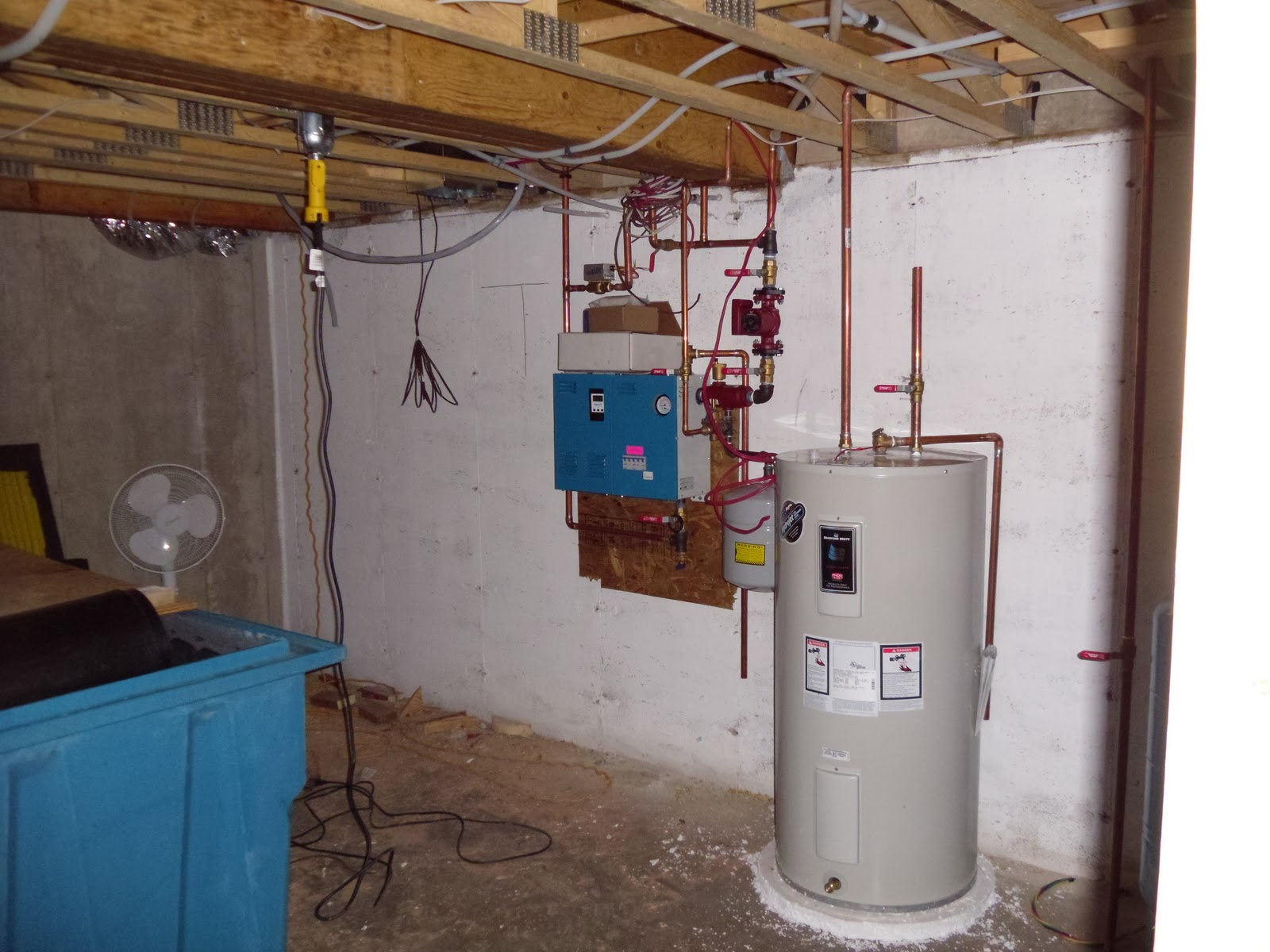 Electric Hot Water Boilers ~ Pei eco plus living project still siding plumbing