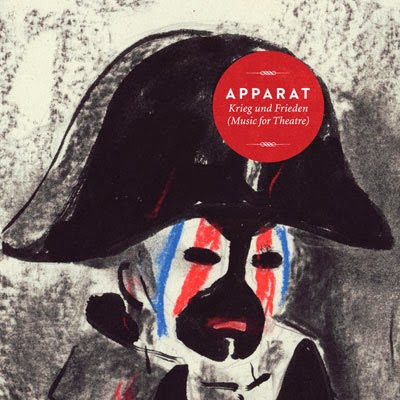 The 10 Best Album Cover Artworks of 2013: 09. Apparat - Krieg und Frieden (Music for Theatre)