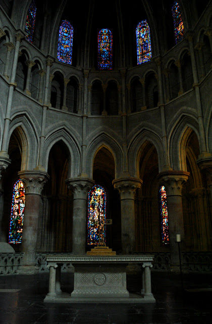 Lausanne Cathedral interior