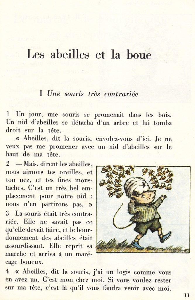 Connu école : références: Les abeilles et la boue - Arnold Lobel ED28