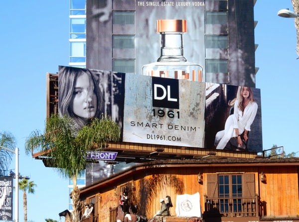 DL 1961 Smart Denim Spring 2015 billboard