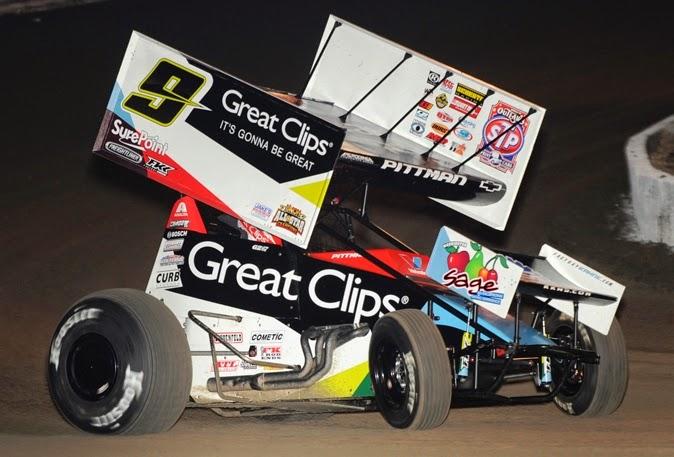 The Dirt Network Pittman Three Peats Wins Driver Of The Week
