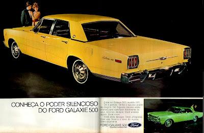 propaganda Ford Galaxie 500 - 1970