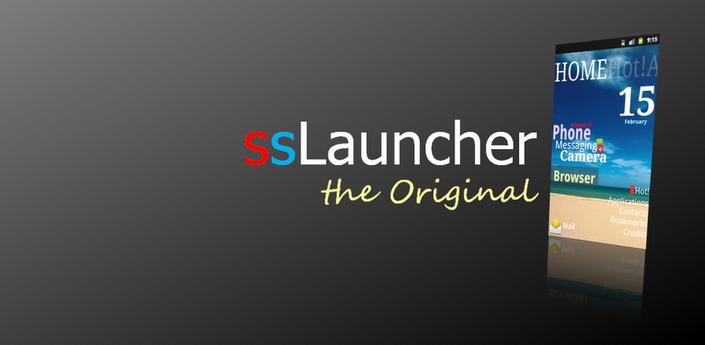 ssLauncher the Original v1.14.7 Apk