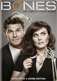 Bones, season 8, new on DVD