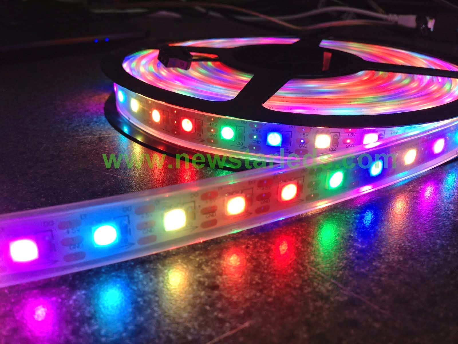 Magic color led strip for christmas is perfect~ NEWSTAR LED .newstarleds.com & NEWSTAR LED CO. LIMITED: Magic color led strip for christmas is ...