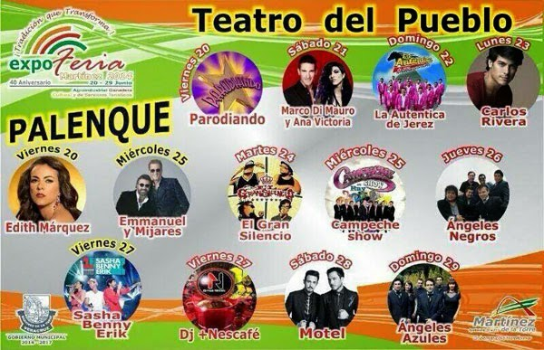 Programa Expo Feria Martínez de la Torre 2014