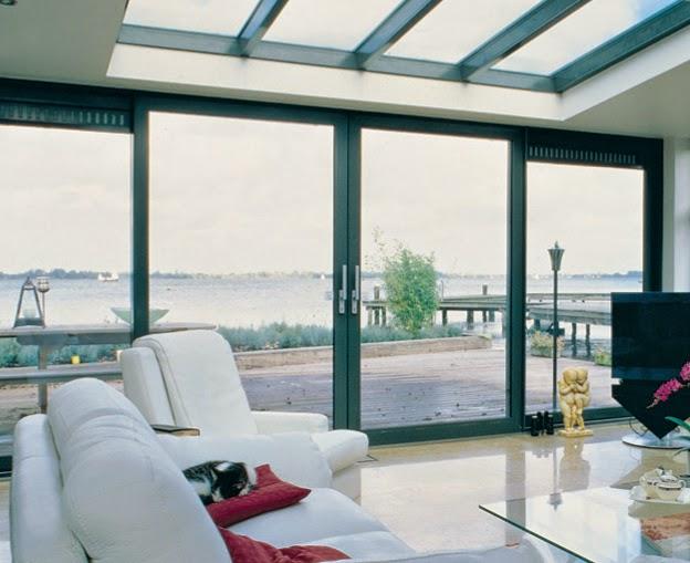 ventanas correderas en balcones