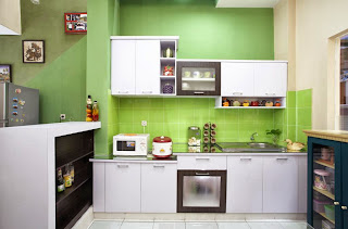 contoh desain dapur minimalis rumah type 36