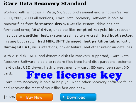 icare data recovery pro license code free