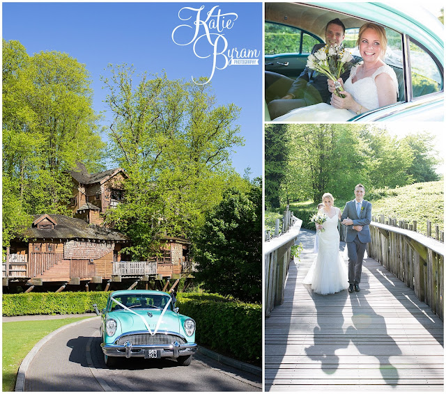 valley retro, american car hire northumberland, alnwick treehouse wedding, alnwick treehouse, katie byram photography, alnwick gardens wedding, northumberland wedding venue, relaxed wedding photography, quirky wedding photographer