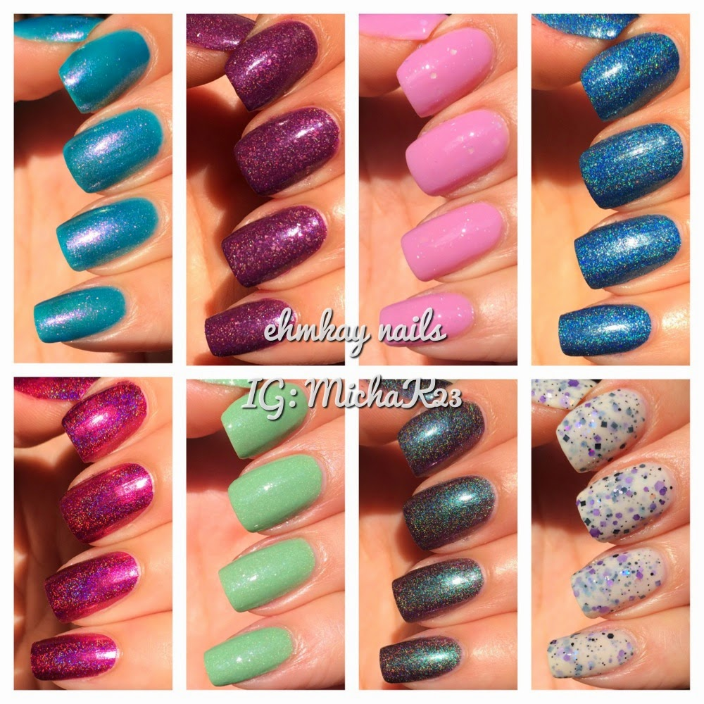 ehmkay nails: Colors by Llarowe Emily\'s Imagination Collection ...