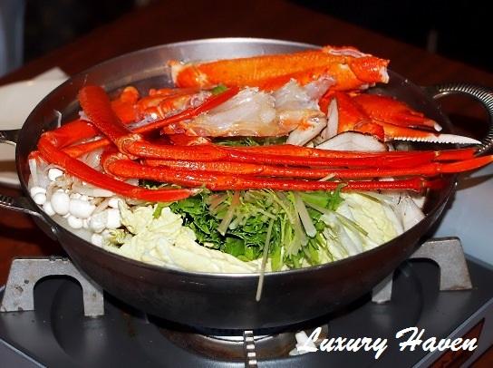 caretta shiodome hokkaido japanese snow crab hotpot