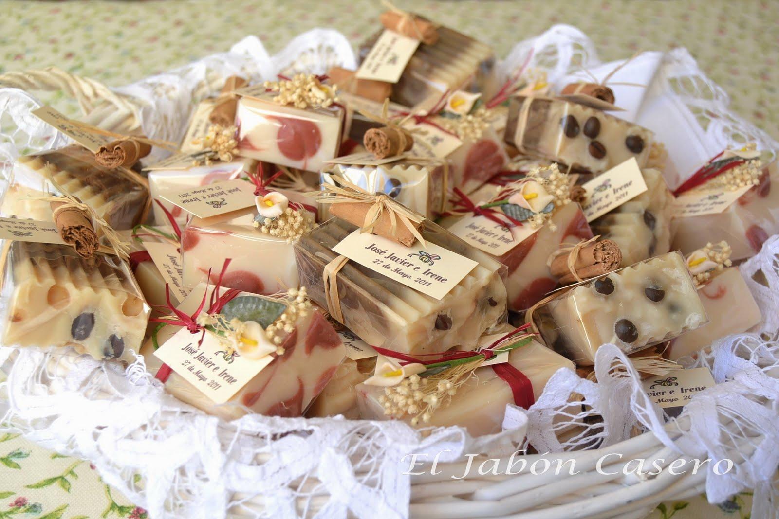 El jab n casero detalles especiales de boda hechos a mano - Como preparar una comunion en casa ...