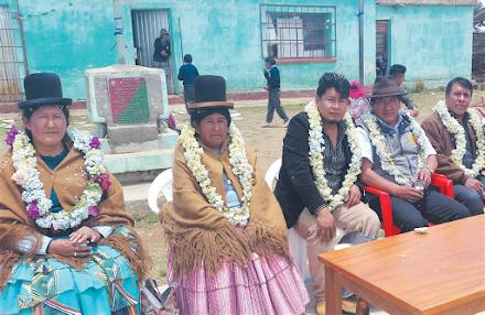 EN LA UNIDAD EDUCATIVA DE TAYPIPAMPA