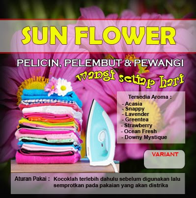 STIKER SUNFLOWER