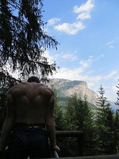 Treeniä Dolomiiteilla