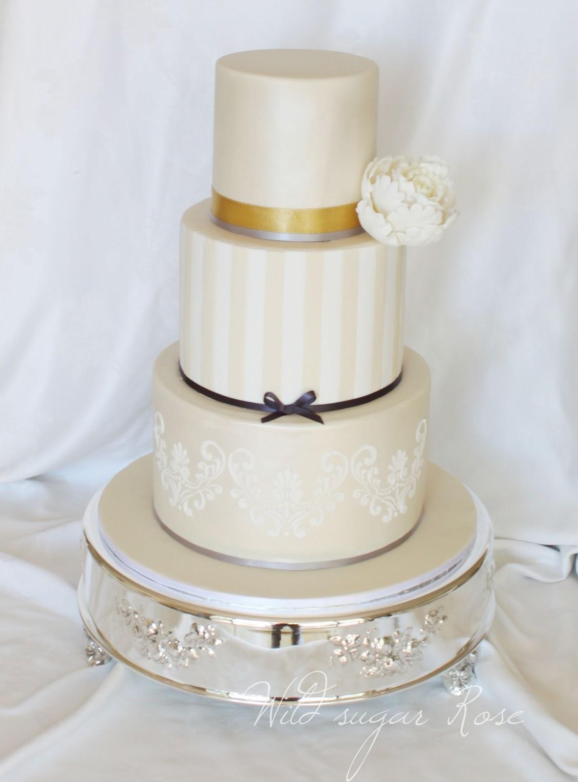 Wild sugar Rose - wedding cakes, cupcakes and cake decorating ...